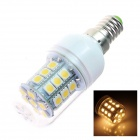 TZY G8 E14 5W 380lm 3500K 31-SMD 5050 LED Warm White Spotlight Bulb - White (AC220~240V)
