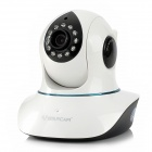 VSTARCAM T7838 Free DDNS CMOS 1.0MP Networking IP Camera w/ 12-LED IR Night Vision - White