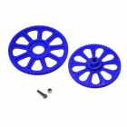 Walkera HM-F450-Z-03 Main Gear Set for V450D03 / V450D01 / F450 R/C Helicopter - Blue (2 PCS)