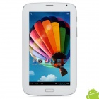 "Baoxue 7"" Android 4.1 Tablet PC w/ 512MB RAM / 4GB ROM / 2 x SIM / G-Sensor - White + Silver"