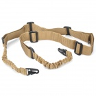 Tactical Military Two Point Rifle Gun Sling Strap - Khaki (170cm)