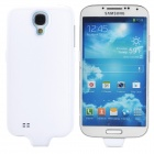 Stylish 3200mAh Rechargeable Li-ion Power Back Case for Samsung Galaxy S4 GT-i9500 - White + Blue