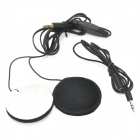 Motorcycle Helmet Headphones Headset for MP3 Player / GPS - Black