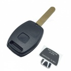 AML031398 Replacement Car 4-Button Key Case for Honda - Black + Bronze