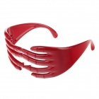 Dekorative Palm Stil Glasses - Red