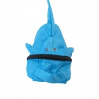 Doormagic Dolphin Style Children Animal Backpack - Lake Blue + Black
