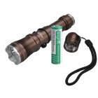 SingFire SF-751A 180lm 3-Mode White Flashlight w/ CREE XP-E R2, Car Charger - Brown (1 x 18650)
