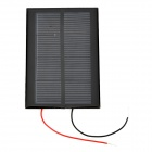 DIY 2V 350mA Solar Battery Panel - Black