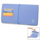 Stationery Office Supplies File Folder - Blau