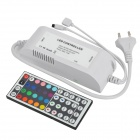 44-Key Wireless Infrared IR Remote Controller for RGB LED Light Strip - White