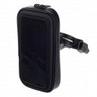 M07 Motorcycle Bicycle Water Resistant Holder / Stand for GPS / Cell Phone - Black