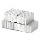 N33 Rectangular NdFeB Magnets - Silver (50 PCS)