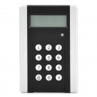 "ZnDiy-BRY IC-III 2.4 ""LCD ID Card Password Access Control System Anwesenheits-Maschine - Schwarz"