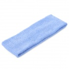 Sports Yoga Microfiber Elastic Hair Band - Blue