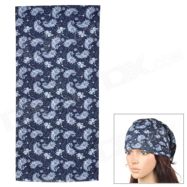 Multifunction Outdoor Sports Seamless Head Scarf - Black