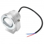 CJGD03 impermeable 10W 450lm proyector RGB con control remoto - plata