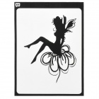 "Spirit Style Decoration Sticker for Macbook 11"" / 13"" / 15"" / 17"" - Black"