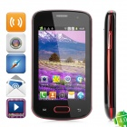 "4.0 GSM Bar S33/TMSM Android Phone w / 3,5 ""Ecran capacitif, TV, Wi-Fi, quadri-bande et Dual-SIM"
