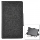 Protective PU Leather Case for Google Nexus 7 II - Black