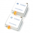 1200m 120RT Single Way Active Twisted Pair Video Transceiver - Silver (2 PCS)