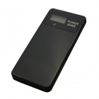 Mikasso Ultrathin LCD Digital Display 6000mAh Mobile Power Source for Iphone / Samsung - Black