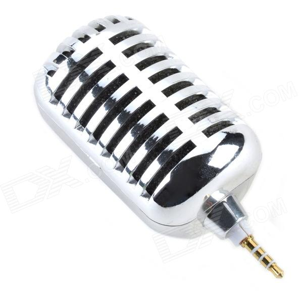 CHEERLINK MG-001 Portable Mini Cellphone Speaker for Iphone 4 / 4S / 5 - Silver
