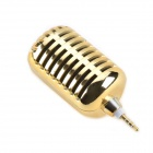 CHEERLINK MG-001 Portable Mini Cellphone Speaker for Iphone 4 / 4S / 5 - Golden