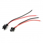 Modified Adapter / Jumper Female & Male Cables for R/C Car / Helicopter Model - Black + Red