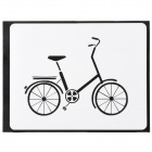"PAG Bicycle Design-Dekoration-Aufkleber für Macbook 11 ""/ 13"" / 15 ""- Schwarz"