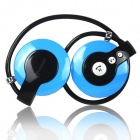 RuiQ Rechargeable Stereo Bluetooth V2.1 Headset Headphone with Microphone - Blue
