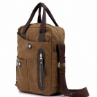 XiaoBanDeng xbd-2001 Portable Single Shoulder Canvas Bag - Brown