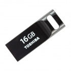 Toshiba Transmemory USRG-016GS-BK USB 2.0 Flash Drive Disk - Black (16GB)
