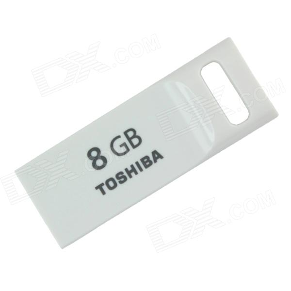 Toshiba Transmemory USRG-08GS-WH USB 2.0 Flash Drive Disk - White (8GB)