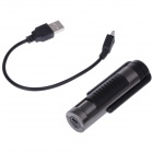 Creative Electric Razor w/ Rechargeable Electronic Cigarette Lighter - Black + Silver