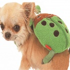 Lady Beetle Style Pet Outdoor backpack - Green + Black + Brown