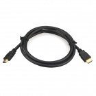 ENK-HH1 High Quality HDMI V1.4 Male to Male Net Plated Cable - Black (100cm)