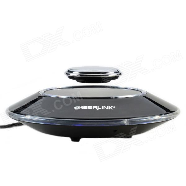 CHEERLINK 8-LED Superior Maglev Auto Rotating Display Stand - Black