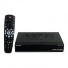 F3S Full HD Satellite Receiver w/ VFD Display / Support Wi-Fi - Black
