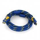 ENK-HH15 HDMI V1.4 Male to Male Cable for PS3 / Xbox360 / HD TV - Blue + Golden + Yellow (300cm)