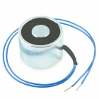 20 x 30mm DC Electro Holding Magnet Attractive Force 10kg - Black + Blue + Silver (12V / 22cm-Cable)