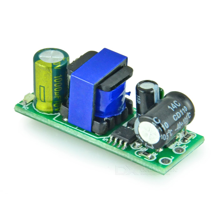 Isolated Switching Power Supply Module - Green (5V / 600mA) 4w power adapter ac 90v 240 110v 220v to dc 5v 800ma power supply module dc 5v switching power supply voltage regulator