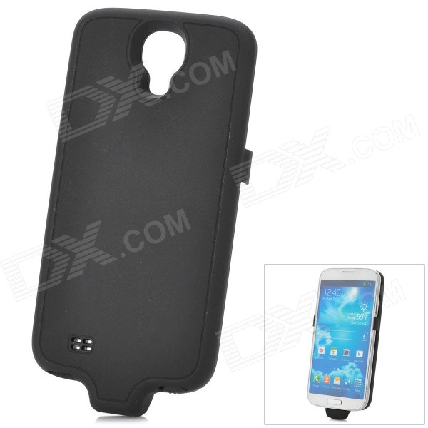 все цены на Stylish 3200mAh Rechargeable Li-ion Power Back Case for Samsung Galaxy S4 GT-i9500 - Black онлайн