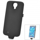 Stylish 3200mAh Rechargeable Li-ion Power Back Case for Samsung Galaxy S4 GT-i9500 - Black