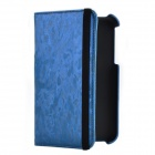 360 Degree Rotation Protective PU Leather Case Cover Stand for Samsung Galaxy Tab 3 P3200 - Blue