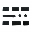 ENKAY Universal Anti-Dust Plug for MacBook Pro - Black (9 PCS)