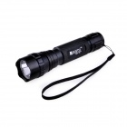 RUSTU R01-T6 Cree XM-L T6 5-Mode 700lm Cool White Flashlight - Black (1 x 18650)