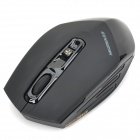 Newmen Nightingale 600 USB 2.4GHz Wireless 1000 / 1500 / 3000dpi Optical Mouse - Black (2 x AA)