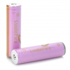 LusteFire 18650 2600mAh 3.7V Lithium Battery for Flashlight - Light Purple (2 PCS)