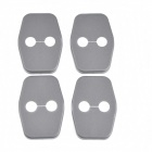 Protective ABS Car Door Lock Covers for C5 / DS4 / Peugrot 308 + More - Black (4 PCS)