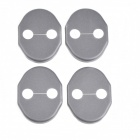 MZD01 Protective ABS Car Door Lock Covers for Mazda5 / CX-5 / Mazda2 + More - Black (4 PCS)